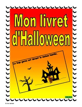 French Halloween Booklet for FSL Students