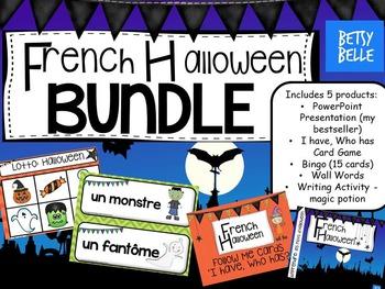 French Halloween Bundle
