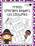 French Halloween Emergent Readers - Les Costumes