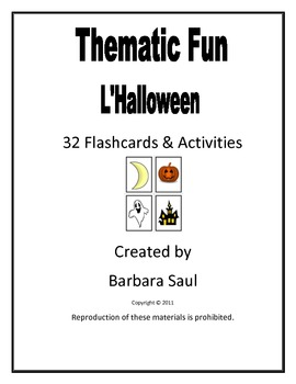 French Halloween Flashcards and Game Activities by Barbara Saul | TpT