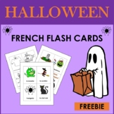 French Halloween Free Flashcards (2nd to 6th)