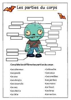 French Halloween + Free printable board games /Activités d'Halloween