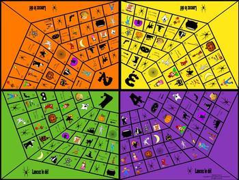 French Halloween Gameboard-La Toile
