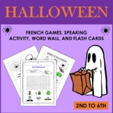French Halloween Games and Cards (2nd to 6th)