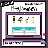 French Halloween-Google Slides™-matching game/activity-DIGITAL