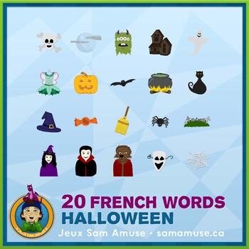 French Halloween J'ai/Qui a Games • 2 decks of cards