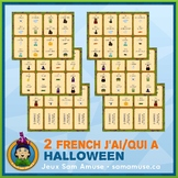 French Halloween J'ai/Qui a Games • 2 decks of cards