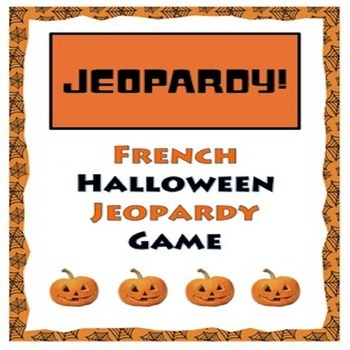 French Halloween Jeopardy Game - Halloween Français
