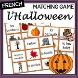 French Halloween - Matching Game (version B)
