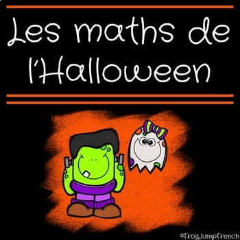 C'est l'halloween! // French Halloween Math