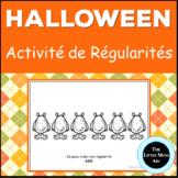 French Halloween Patterns Activity: Les Régularités d'Halloween