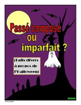French Halloween News Stories  - passé composé or imparfait?