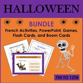 French Halloween Bundle (7th to 12th)