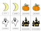 French Halloween Pair Cards and Activities