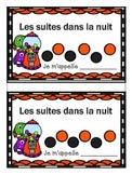 French Halloween Math Patterning Activity- Les Suites en francais