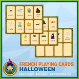 French Halloween Playing Cards • Card Game