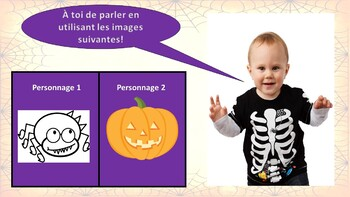 French Halloween PowerPoint Presentation (2nd to 6th)