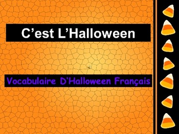 french halloween powerpoint slides by tchrbrowne tpt