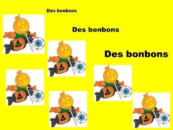 French Halloween PowerPoint Slides