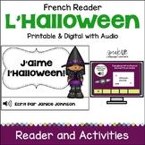 French Halloween Reader & Cut/Paste ~ J'aime l'Halloween !