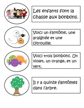 French Halloween Sentence Matching