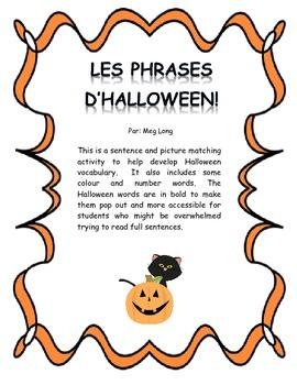 French Halloween Sentence Matching