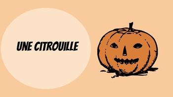 French Halloween Vocabulary