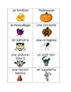 French Halloween Vocabulary Activities (Flash Cards, Vocabulary, Verbs)