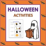 French Halloween Vocabulary, Activities, and Songs (PreK to 1st)
