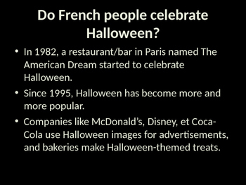 french halloween and toussaint powerpoint presentation tpt