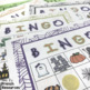 French Halloween and fall bingo AUTOMNE