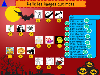 French Halloween full lesson for beginners/pre-intermediate
