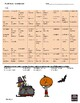 French Halloween fillers