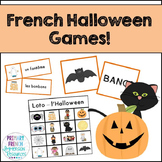 French Halloween flashcards & vocabulary games - Le vocabulaire de l'Halloween