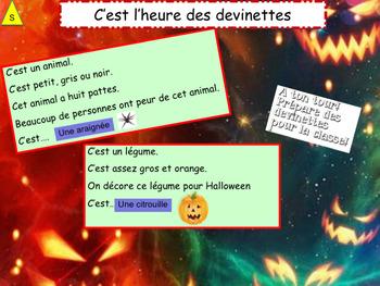 French Halloween freebie
