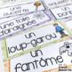 French Halloween word wall/ Mur de mots - l'Halloween