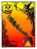 French - Halloween Writing Activity (Witch's Cover Letter