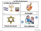 French Hanukkah 2 Emergent Reader Booklets