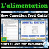 French Healthy Eating Unit - New Canada Food Guide! - Dist