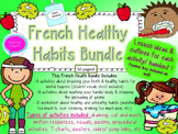 French Healthy Choices Bundle- La sante- Teeth, Washing Hands + Hygiene & More!