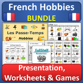 French Hobbies BUNDLE (Les Passe-Temps)