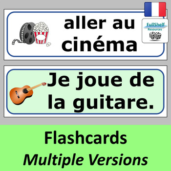 French Hobbies (Les Passe-Temps) Presentation
