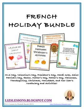 French Holiday Bundle!