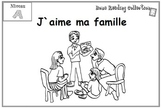 French Literacy, Levelled Reader - J`aime ma famille v.2