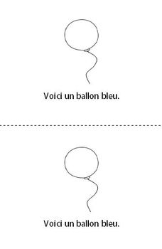 French Home Reading Collection, Les ballons