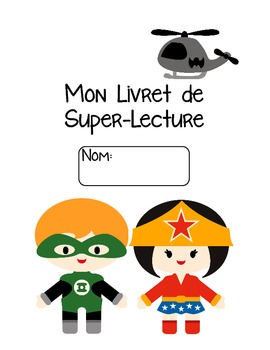 French Home Reading Superhero Theme