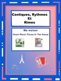 French House Words - French Rap-like Musical Chant with Exercises and Mp3
