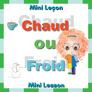 French Hot or Cold (Chaud ou Froid) Booklet