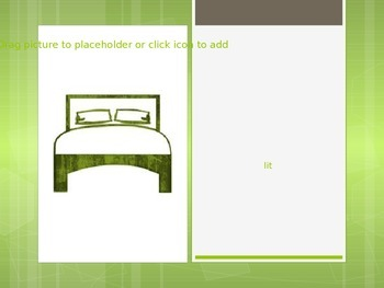 French House Items Powerpoint