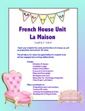 Maison/ House Complete French Unit